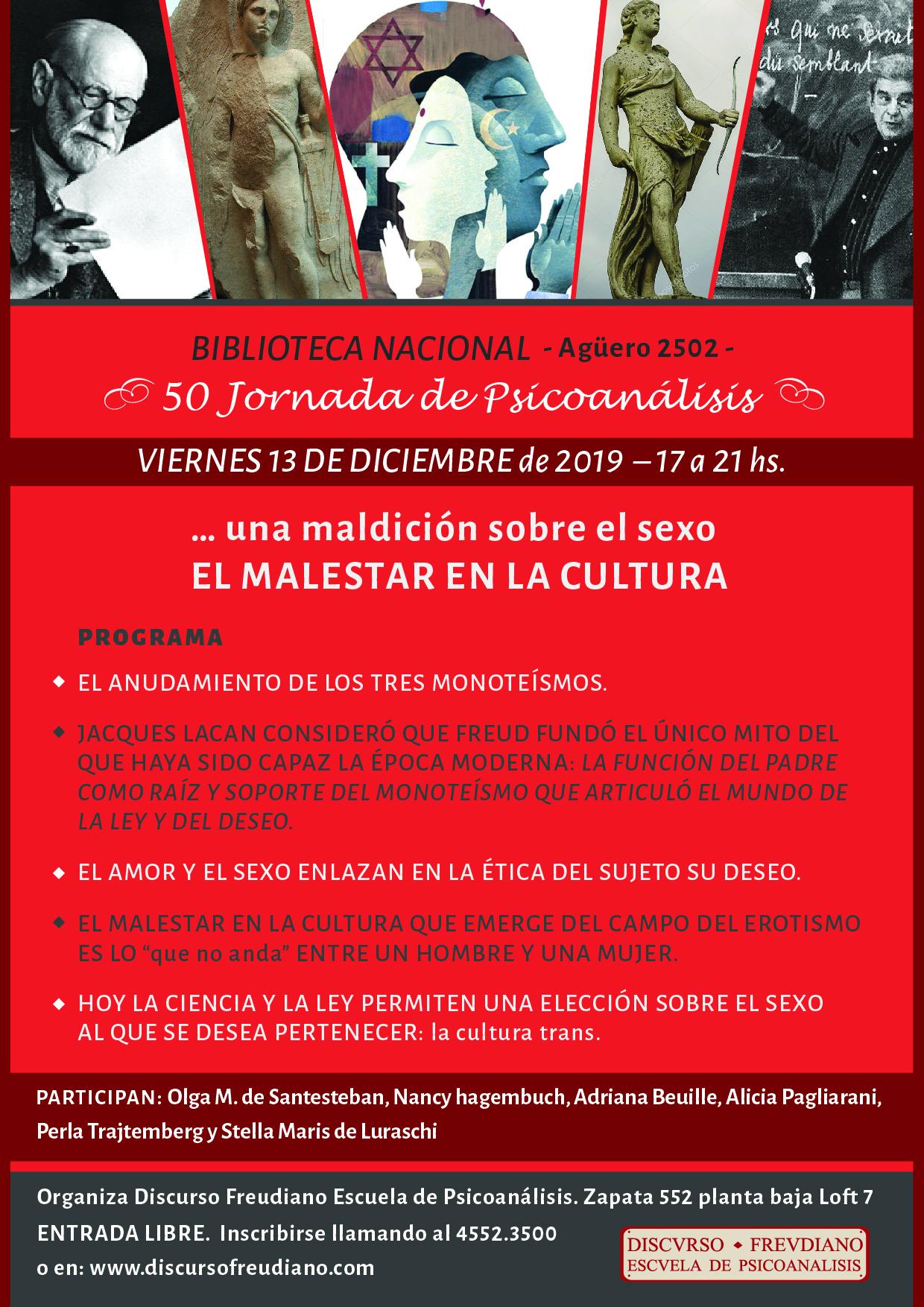 50 Jornada de Psicoanalisis - Discurso Freudiano