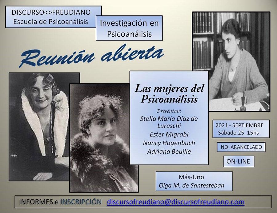 Reunión Abierta - Las mujeres del psicoanálisis