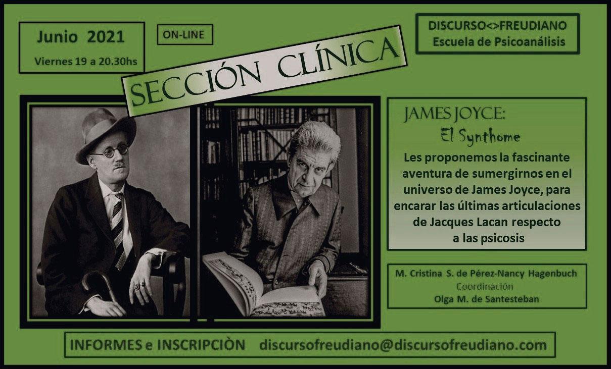 Sección Clinica - James Joyce: El Synthome