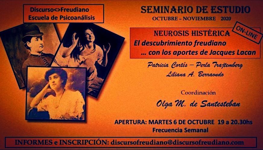 Seminario de estudio online - Discurso Freudiano