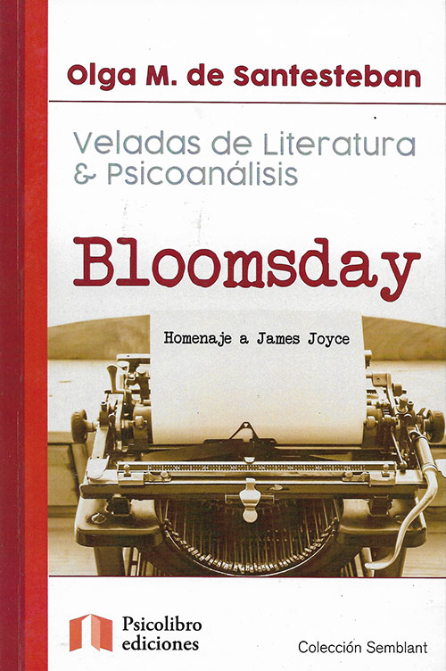 Libro Bloomsday - Homenaje A James Joice - Tapa