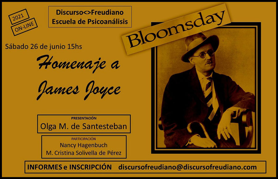 DiscursoFreudiano - Homenaje a James Joyse - Bloomsday