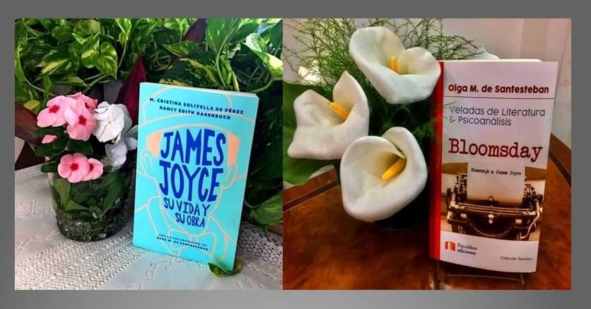 Portada Libros James Joyce - Bloomsday