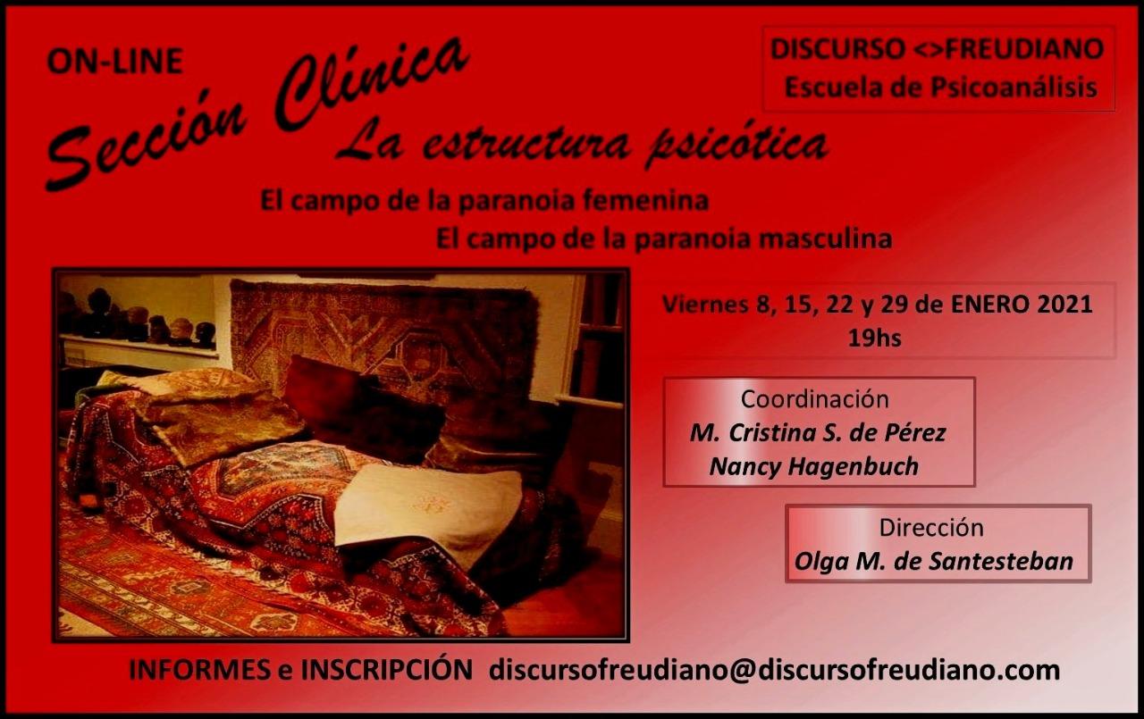 Sección clinica Online - Discurso Freudiano